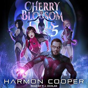 Cherry Blossom Girls 5 audiobook cover art