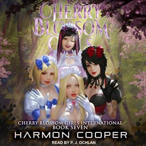 Cherry Blossom Girls International audiobook cover art