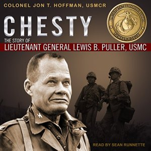 Chesty audiobook cover art