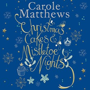 Christmas Cakes and Mistletoe Nights audiobook cover art