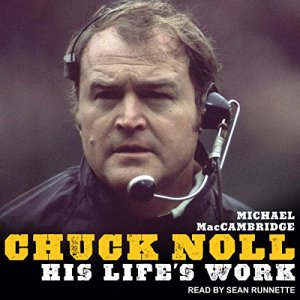 Chuck Noll audiobook cover art