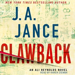 Clawback audiobook cover art
