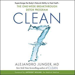 CLEAN 7 audiobook cover art