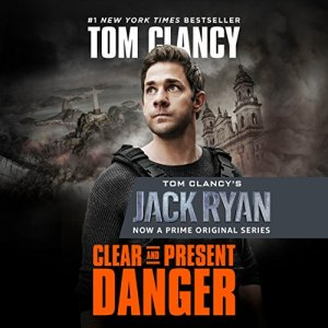 Clear and Present Danger audiobook cover art