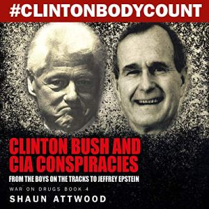 Clinton Bush and CIA Conspiracies: From The Boys on the Tracks to Jeffrey Epstein audiobook cover art