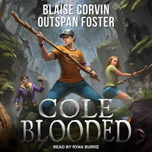 Cole Blooded audiobook cover art