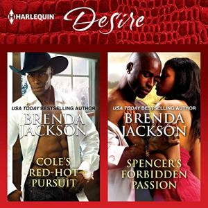 Cole's Red-Hot Pursuit & Spencer's Forbidden Passion audiobook cover art
