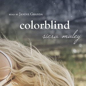 Colorblind audiobook cover art
