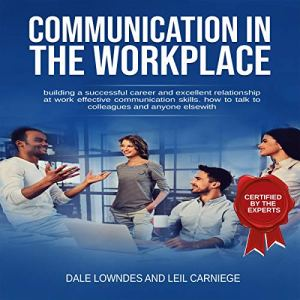 Communication in the Workplace audiobook cover art