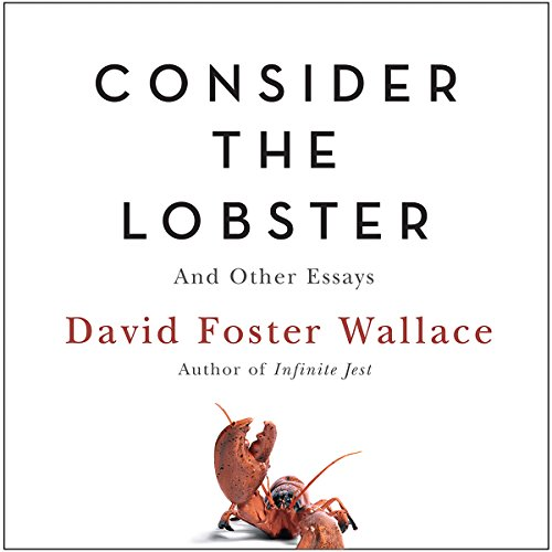 Consider the Lobster audiobook cover art
