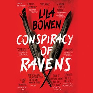 Conspiracy of Ravens audiobook cover art