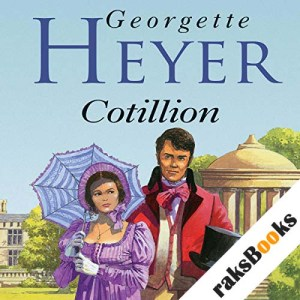 Cotillion audiobook cover art
