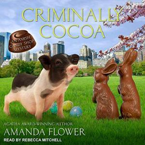 Criminally Cocoa audiobook cover art