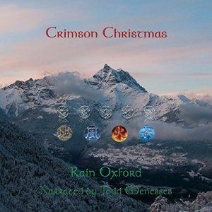 Crimson Christmas audiobook cover art