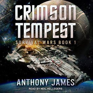 Crimson Tempest audiobook cover art