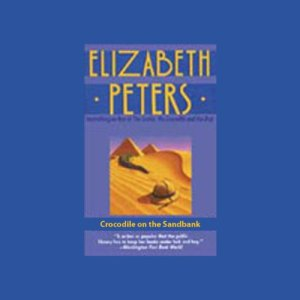 Crocodile on the Sandbank audiobook cover art