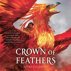 Crown of Feathers audiobook cover art