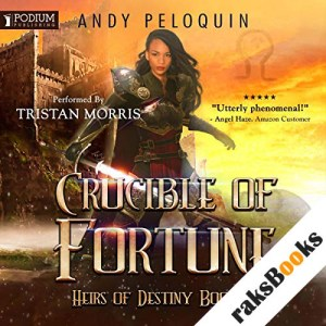 Crucible of Fortune audiobook cover art