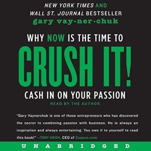 Crush It! audiobook cover art