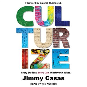 Culturize audiobook cover art