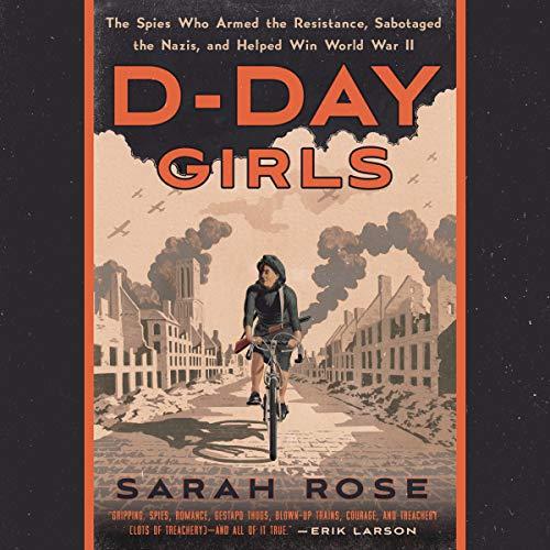 D-Day Girls audiobook cover art