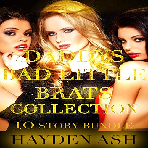 Daddy's Bad Little Brats Collection audiobook cover art