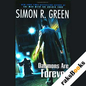 Daemons Are Forever audiobook cover art