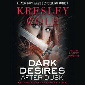 Dark Desires After Dusk: Immortals After Dark, Book 6 audiobook cover art