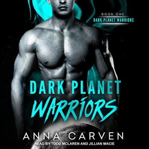 Dark Planet Warriors audiobook cover art