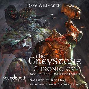 Darkness Fallen audiobook cover art