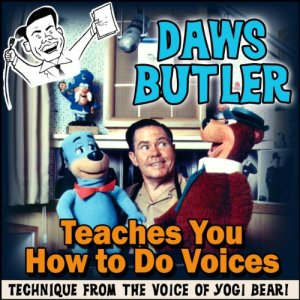 Daws Butler Teaches You How to Do Voices audiobook cover art