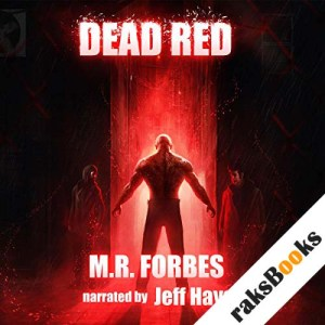 Dead Red audiobook cover art