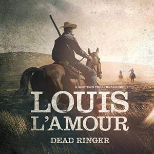 Dead Ringer audiobook cover art