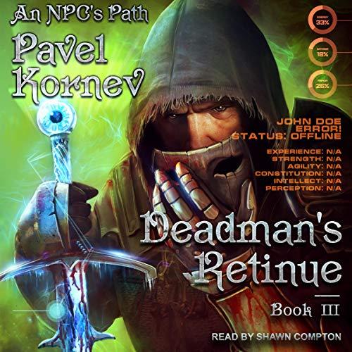 Deadman's Retinue audiobook cover art