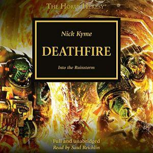 Deathfire audiobook cover art