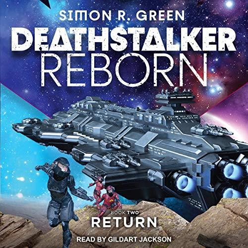 Deathstalker Return audiobook cover art