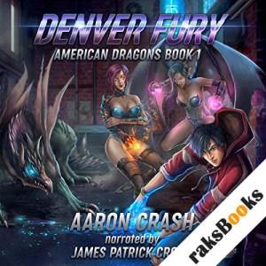 Denver Fury: An Urban Fantasy Harem Adventure audiobook cover art