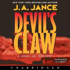 Devil's Claw audiobook cover art