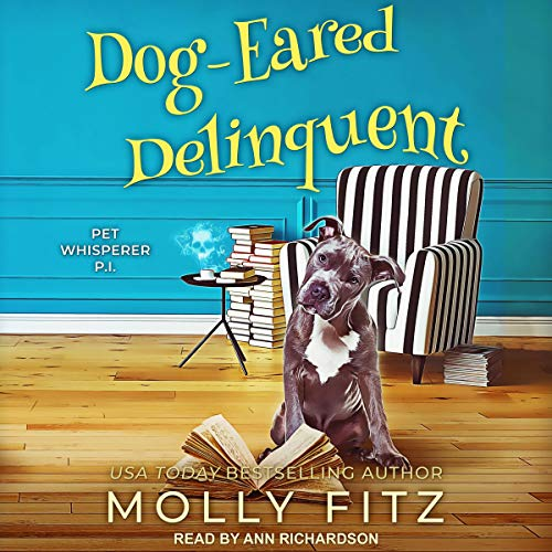 Dog-Eared Delinquent audiobook cover art