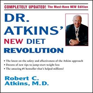 Dr. Atkins' New Diet Revolution audiobook cover art