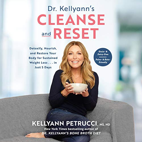 Dr. Kellyann's Cleanse and Reset audiobook cover art