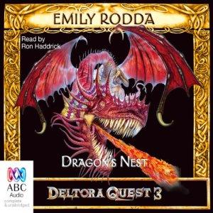 Dragon's Nest audiobook cover art