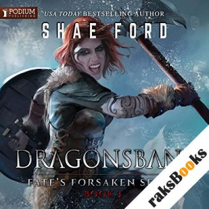 Dragonsbane audiobook cover art