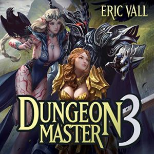 Dungeon Master 3 audiobook cover art