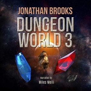 Dungeon World 3 audiobook cover art