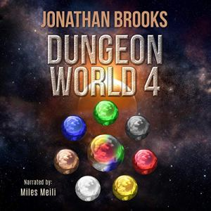 Dungeon World 4 audiobook cover art