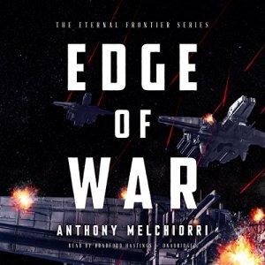 Edge of War audiobook cover art