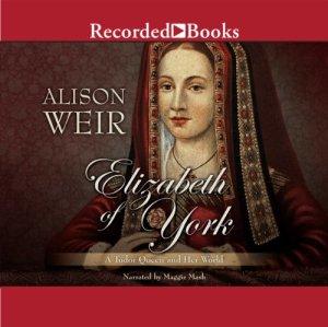 Elizabeth of York audiobook cover art
