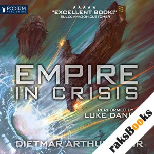 Empire in Crisis audiobook cover art