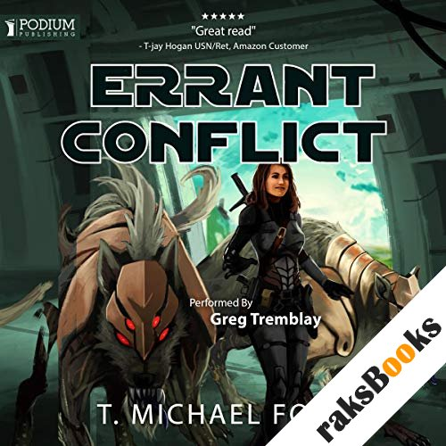 Errant Conflict audiobook cover art